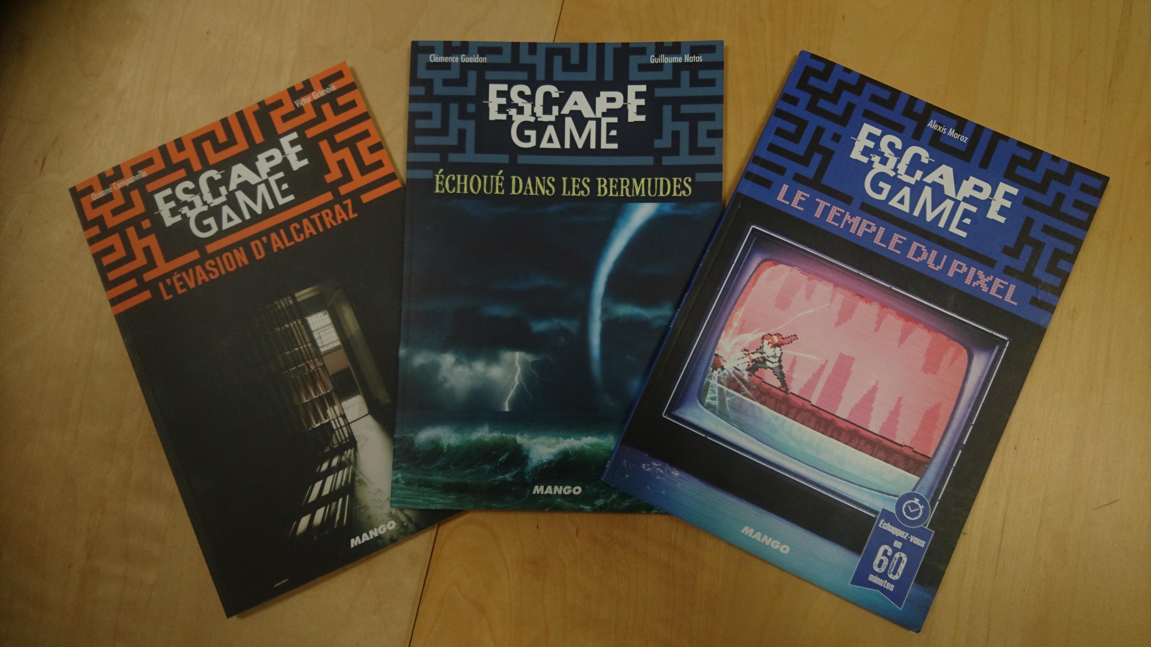 Trois Nouveaux Escape Books Chez Mango Ludochroniques